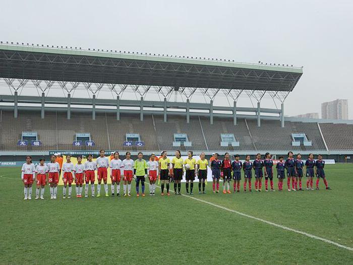 中华人民共和国第二届青年运动会足球项目体校组十一人制女子13岁组比赛简讯